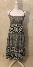 Michael Kors Maxi Dress. Size: M. Black & White Floral