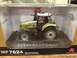 Massey Ferguson 7624 Universal Hobbies Model Tractor Limited Edition Gold 1:32