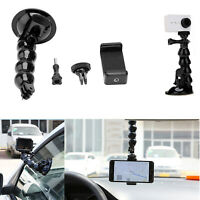 Suction Cup Mount Holder for GoPro 9/YI/GoPro Hero6 Session Phone Adjustable New