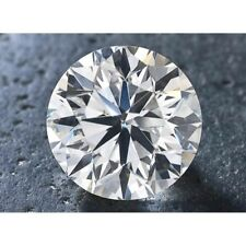 1.42 Ct 7.68 mm Round Cut Real Moissanite Brilliant Stone For jewelry