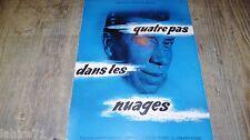 fernandel QUATRE PAS DANS LES NUAGES   ! rare dossier presse cinema 1956