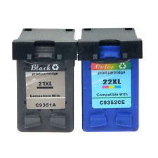 Ink Cartridge for 21 22 21XL 22XL HP Deskjet D1360 D1460 D2360 PSC 1402 1406