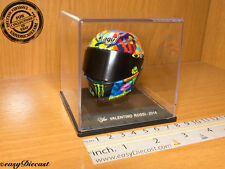 VALENTINO ROSSI MOTO-GP AGV 2014 HELMET 1/5 SIMONCELLI CIRCUIT MISANO CASCO