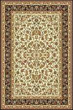 Teppich Klassisch Orientalisches Design Perser mit Umrandung Creme 6 Größen FC