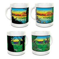 Wondermugs Color Changing Gone Hunting Coffee Cup Mug