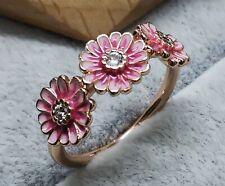 Pandora Rose 188792C01 SIZE 58 Pink Daisy Flower Trio ALE MET