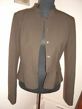 KENNETH COLE REACTION Mandarin Collar snaps closure JACKET BLAZER size 4