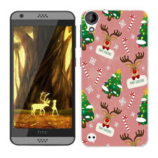 Soft TPU Silicone Case For HTC Desire 530 630 Phone Back Covers Skins Christmas