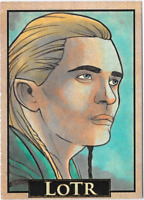 LOTR Lord of the Rings PSC ACEO Sketch Card Legolas by Rich Molinelli