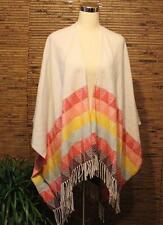 AE American Eagle Poncho Cape Wrap Sweater One Size Serape Aztec 2015