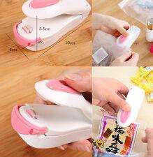 Mini Portable Sealing Tool Heat Mini Handheld Plastic Bag Impluse Sealer Gift ZS