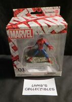 """Marvel Spiderman 4"""" Schleich hand painted action figure #01 collectible"""