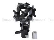 3-Sabot/Griffe Support Flash+Adaptateur Vis pr Stand Lumière Parapluie Diffuseur