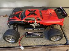 Electrix RC Circuit 1/10 2wd Stadium Truck Red w/Extra Battery