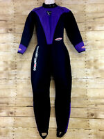Henderson Aquatics Full Wetsuit Womens Large Microprene 1mm Black/Purple