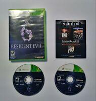 Resident Evil 6 for Microsoft Xbox 360 Video Game