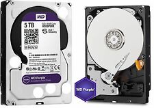 Western Digital 5TB PURPLE Surveillance Hard Drives SATA 6 Gbs 64MB WD50PUR
