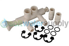 "7345396 - 1"" Softener Bypass Valve Kit + (2) adapters, (4) o-rings, (4) clips"