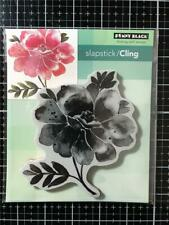 New Penny Black Rubber Stamp DREAMS OF LOVE FLOWER BLOOM Free USA ship cling
