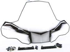 Powermadd 10457011 Cobra ProTEK ATV Windshield No Cut Out Standard Mount 24571