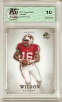 @ @ Russell Wilson 2012 Upper Deck SP Authentic #87 Rookie Card PGI 10