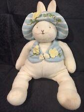 "Bunnies By The Bay Buttercup Bunny Rabbit 2003 Hallmark 13"" Plush Stuffed Animal"