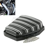 Black CNC Cam Cover Black For Harley Blackline Breakout Dyna 2001-2017