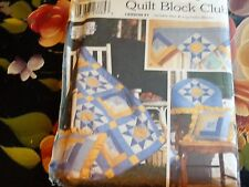 SIMPLICITY CRAFT SEWING PATTERN QUILT BLOCK CLUB LESSON 1 9169 UNCUT