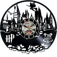 Harry Potter Vinyl Wall Clock Record Gift Decor Poster Sing Feast Day Woman Man