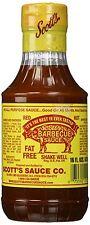 Scott's Spicy Barbecue Sauce 16 oz Sugar Free Fat Free