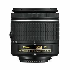NEW Nikon D Series AF-P DX NIKKOR 18-55mm f/3.5-5.6G VR DSLR Camera Lens
