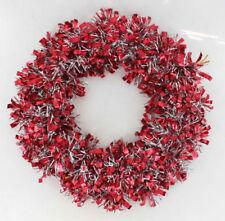 Coronas, guirnaldas y plantas de Navidad color principal rojo