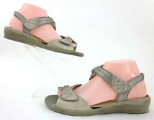 Ziera 'Ditto' Slingback OT Sandals Taupe Leather EU 39 US 8-8.5 Wide / MSRP $220