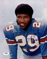 Kenny Houston autographed signed inscribed 8x10 photo NFL Houston Oilers PSA COA