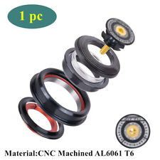 """CNC Bicycle Bearings Headset For MTB 1-1/2"""" Tapered 1-1/8"""" Straight Fork Tube 1x"""