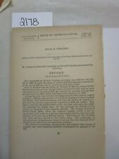 Govt Report William H. Revere Col 107th United States Colored Troops #2178