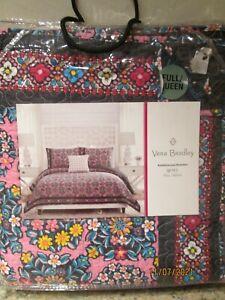 "Vera Bradley ""Kaleidoscope Rosettes"" Full/Queen Quilt...New"