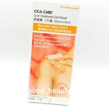 CICA-CARE Scar Treatment Gel Sheet 12cm x 3cm EXP 2021
