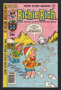 RICHIE RICH #201, 1981, Harvey Publications, VG/FN CONDITION