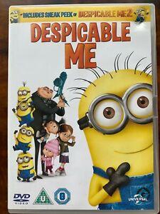 Despicable Me DVD 2010 1 Illumination Minions Comedy Animated Movie 2 Discs