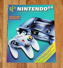 Nintendo 64 Vintage German Ad Booklet Kirby's Air Ride Yoshi's Island Turok etc