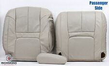 99-00 Cadillac Escalade -Passenger Complete Replacement Leather Seat Covers TAN