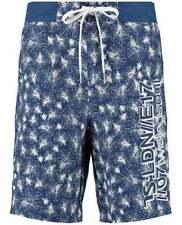 Polyester Loose Fit Floral Regular Size Shorts for Men