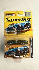 MATCHBOX SUPERFAST #16 SHELBY COBRA 427 S/C DIECAST MINT!! 1 OF 8000  DARK GREEN