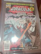 TOMB OF DRACULA 50 CGC 9.6 (11/76) WP vs Silver Surfer & early Blade appearance.