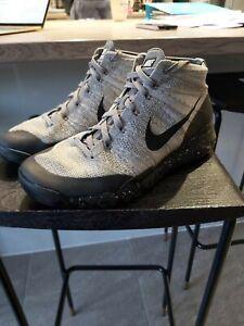 Grey Nike Chukka FSB Flyknit UK Size 10