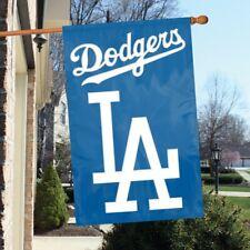 LOS ANGELES DODGERS APPLIQUE BANNER House Flag, Wall Flag, Garden Flag