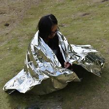 Waterproof Emergency Blanket Safety Survival Insulating Mylar Thermal Heat HGUK