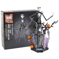 Revoltech 005 The Nightmare Before Christmas Jack Skellington PVC Action Figure