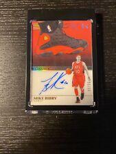 Mike Bibby Hawks 2019-20 Panini Noir Sneaker Spotlight Auto Basketball Card /99